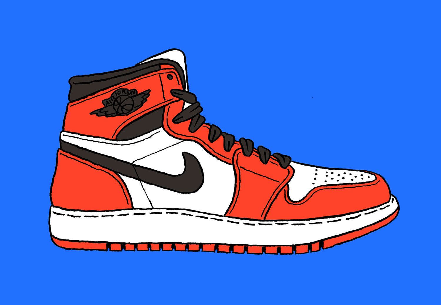 Drawings Of Basketball Shoes