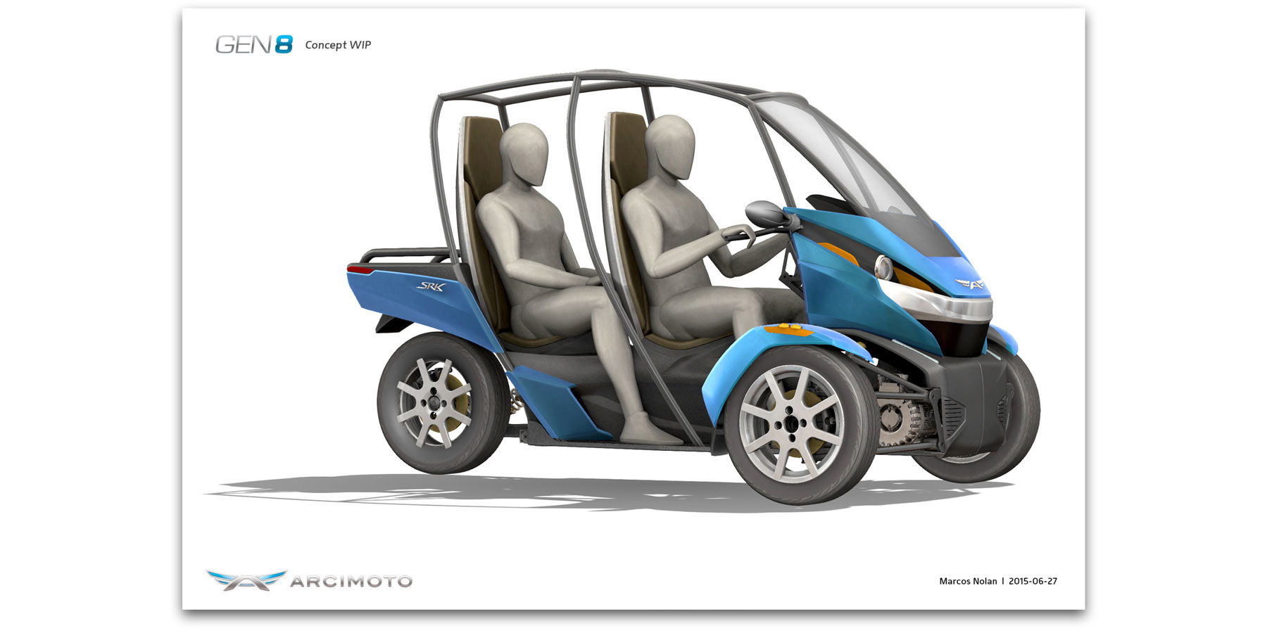 Courana Multidisciplinary Design By Marcos Nolan Toyota Shows The Iroad A Fullyenclosed Tilting Electric Three Previous Next Image 1 Of 7